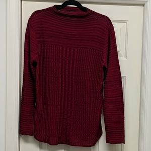 Dark Red New Directions Sweater Size XL